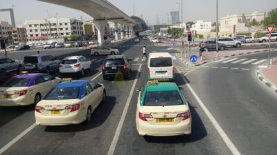 UAE-Dubai's RTA announces change for maximum number of passengers permitted in Taxis