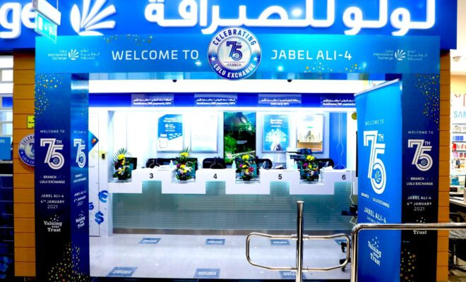 LuLu Exchange opens its 75th branch in UAE