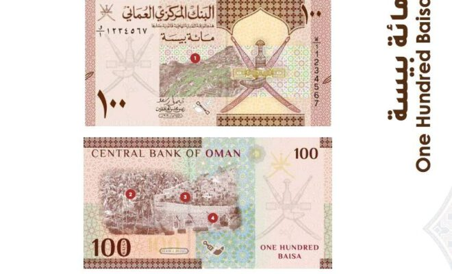 Oman new Bank Notes