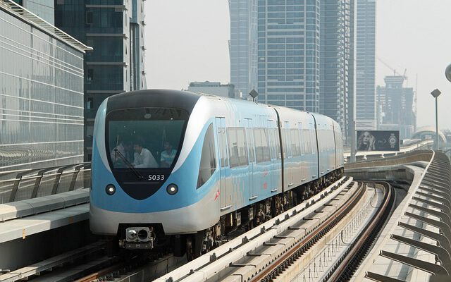 Dubai Metro Red Line Stations Upgraded
