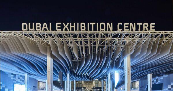 Dubai Exhibition Centre at Expo 2020 Dubai.